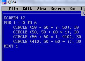 Цикл в QBasic
